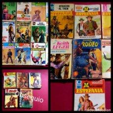Cómics: LOTE DE 21 NOVELAS DEL OESTE -FOTOS DE TODAS. Lote 255588380