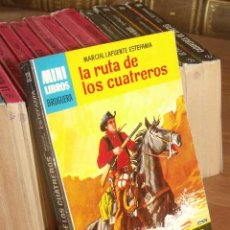 Cómics: MINI LIBROS BRUGURA SERIE OESTE Nº 351 LA RUTA DE LOS CUATREROS MARCIAL LAFUENTE ESTEFANIA 1965. Lote 255655895