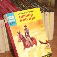Cómics: MINI LIBROS BRUGURA SERIE OESTE Nº 375 PASION SALVAJE MARCIAL LAFUENTE ESTEFANIA 1965. Lote 255656360
