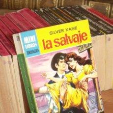 Cómics: MINI LIBROS BRUGURA SERIE OESTE Nº 378 LA SALVAJE SILVER KANE 1965. Lote 255656665