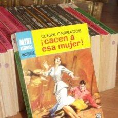 Cómics: MINI LIBROS BRUGURA SERIE OESTE Nº 382 ¡ CACEN A ESA MUJER ! CLARK CARRADOS 1965. Lote 255657100