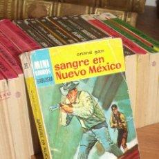 Cómics: MINI LIBROS BRUGUERA SERIE OESTE Nº 386 SANGRE EN NUEVO MEXICO ORLAND GARR 1965. Lote 255658280