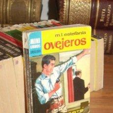 Cómics: MINI LIBROS BRUGUERA SERIE OESTE Nº 397 OVEJEROS MARCIAL LAFUENTE ESTEFANIA 1965. Lote 255659675