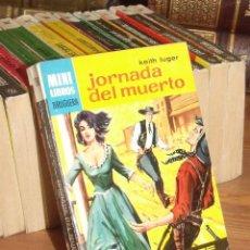 Cómics: MINI LIBROS BRUGUERA SERIE OESTE Nº 398 JORNADA DEL MUERTO KEITH LUGER 1965. Lote 255659760