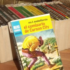 Cómics: MINI LIBROS BRUGUERA SERIE OESTE Nº 400 EL COMISARIO DE CARSON CITY MARCIAL LAFUENTE ESTEFANIA 1965. Lote 255659980