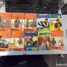 Fumetti: LOTE DE 10 NOVELAS OESTE COLECCIÓN BOLSILIBROS EASA EDITORIAL AMÉRICA. Lote 261275790