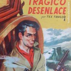 Cómics: BISONTE Nº 240. TRÁGICO DESENLACE.TEX TAYLOR. BRUGUERA 1952. Lote 261276215