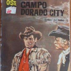 Cómics: ASES DEL OESTE Nº 319. CAMPO DORADO CITY. FIDEL PRADO. BRUGUERA 1965. Lote 261276380