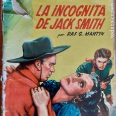 Cómics: BISONTE Nº 172. LA INCÓGNITA DE JACK SMITH. RAF G. MARTYN. BRUGUERA 1951. Lote 261277195
