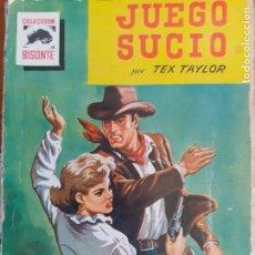 Cómics: BISONTE Nº 669. JUEGO SUCIO. TEX TAYLOR. BRUGUERA 1960. Lote 261277640