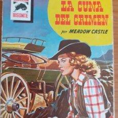 Cómics: BISONTE Nº 465. LA CUÑA DEL CRIMEN. MEADOW CASTLE. BRUGUERA 1956. Lote 261277980