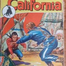 Cómics: CALIFORNIA Nº 18. MISIÓN PARA UN REBELDE. PETER DEBRY. BRUGUERA 1957. Lote 261278090