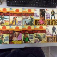 Fumetti: LOTE DE 10 NOVELAS OESTE COLECCIÓN BOLSILIBROS EASA EDITORIAL AMÉRICA. Lote 261552070