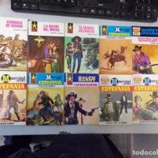 Fumetti: LOTE DE 10 NOVELAS OESTE COLECCIÓN EDITORIAL BRUGUERA. Lote 261555155