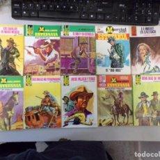 Fumetti: LOTE DE 10 NOVELAS OESTE COLECCIÓN EDITORIAL BRUGUERA. Lote 261556040