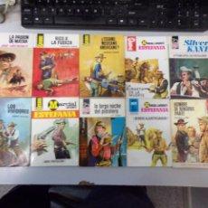 Fumetti: LOTE DE 10 NOVELAS OESTE COLECCIÓN EDITORIAL BRUGUERA. Lote 261559415