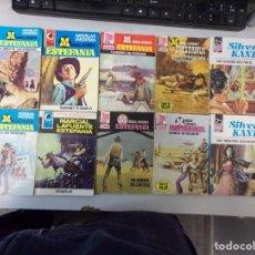 Fumetti: LOTE DE 10 NOVELAS OESTE COLECCIÓN EDITORIAL BRUGUERA. Lote 261560510
