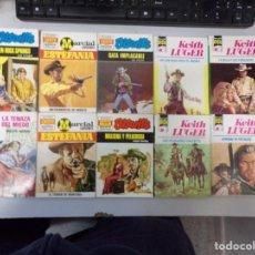 Fumetti: LOTE DE 10 NOVELAS OESTE COLECCIÓN EDITORIAL BRUGUERA. Lote 261562060