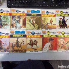 Fumetti: LOTE DE 10 NOVELAS OESTE COLECCIÓN EDITORIAL BRUGUERA. Lote 261563110