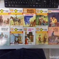 Fumetti: LOTE DE 10 NOVELAS OESTE COLECCIÓN EDITORIAL BRUGUERA. Lote 261574985