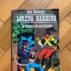 Cómics: LORENA HARDING Nº 1. EL HOMBRE DE CAPISTRANO POR J. MALLORQUÍ. Lote 262049025