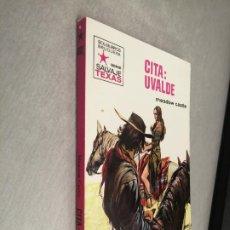 Cómics: CITA: UVALDE / MEADOW CASTLE / SALVAJE TEXAS Nº 802 / BRUGUERA 1ª EDICIÓN 1971. Lote 262255405