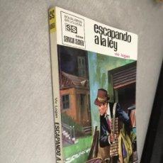 Cómics: ESCAPANDO A LA LEY / VIC LOGAN / SERVICIO SECRETO Nº 1068 / BRUGUERA 1ª EDICIÓN 1970. Lote 262256990