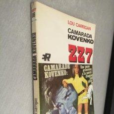 Cómics: CAMARADA KOVENKO / LOU CARRIGAN / ZZ7 Nº 86 / ED. ROLLÁN 1ª EDICIÓN 1970. Lote 262257670