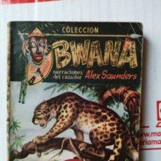 Cómics: LA ESCLAVA BLANCA - ALEX SAUNDERS, BWANA NÚMERO 7. Lote 262297020