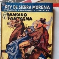 Cómics: EL BANDIDO FANTASMA - MANUEL FERNÁNDEZ Y GONZÁLEZ. LOS GRANDES NOVELISTAS ESPAÑOLES NÚMERO 2. Lote 262297530
