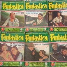 Cómics: FANTASTICA MAGAZINE. LOTE DE 7 TOMOS. NUMEROS 3,6,7,8 Y 10 Y EXTRAS 3 Y 4. EDICIONES CLIPER. Lote 262961710