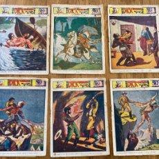 Cómics: LOTE 6 EJEMPLARES DICK NAVARRO (6,7,9,11,13,16) - 15 CTS - EDICIONES MARCO - ORIGINALES. Lote 263677020