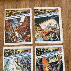Cómics: LOTE 4 EJEMPLARES UN VIAJE AL PLANETA MARTE (10,12,15,17) - 10 CTS - ORIGINALES. Lote 263678500