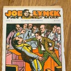 Cómics: JOE LYNCK PUÑO DE ACERO - NUMERO 1 - LA MANO ENGUANTADA - 10 CTS - ORIGINAL - DIFICIL. Lote 263683340
