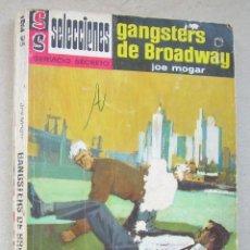 Cómics: GANGSTERS DE BROADWAY. JOE MOGAR. SELECCIONES SERVICIO SECRETO, Nº 253. ED. BRUGUERA, 1967. Lote 266374723