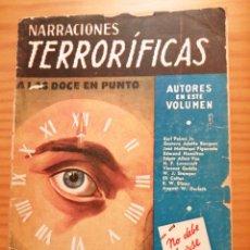 Comics : A LAS DOCE EN PUNTO - NARRACIONES TERRORÍFICAS NÚMERO 10. Lote 267417534