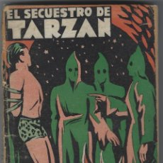 Cómics: COLECCIÓN MISTERIO 148. EL SECUESTRO DE TARZAN EDITORIAL J.C. ROVIRA, 1933. APÓCRIFO. BUEN ESTADO. Lote 269068558