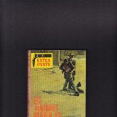 Cómics: EXTRA OESTE Nº 903 - FRED HERCEY - LOS TRAIDORES MUEREN ASÍ - EDITORIAL ROLLÁN 1967 / 1ª EDICION. Lote 269192313