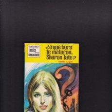 Cómics: SERVICIO SECRETO Nº 1018 - KEITH LUGER - ¿AQUÉ HORA TE MATARON, SHARON TATE? - BRUGUERA 1970. Lote 269192598