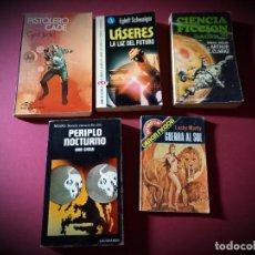 Cómics: 5 -NOVELAS DE CIENCIA FICCION. Lote 270139543
