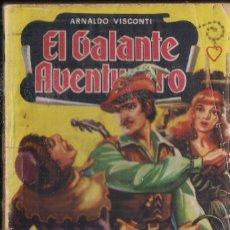 Cómics: EL GALANTE AVENTURERO Nº 9: MASCARA DE CERA POR ARNALDO VISCONTI. BRUGUERA. Lote 270619678