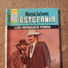 Cómics: NOVELA DE MARCIAL LAFUENTE ESTEFANÍA EN LOS HERMANOS FONDA Nº 298. Lote 271694363