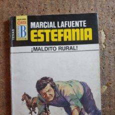 Cómics: NOVELA DE MARCIAL LAFUENTE ESTEFANÍA EN MALDITO RURAL Nº 252. Lote 271695183