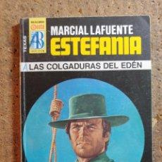Fumetti: NOVELA DE MARCIAL LAFUENTE ESTEFANÍA EN LAS COLGADURAS DEL EDEN Nº 222. Lote 273169578