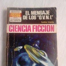 Cómics: EL MENSAJE DE LOS OVNI - LUKY MARTY - BOLSILIBROS BRUGUERA, COL. LA CONQUISTA DEL ESPACIO N.º 186. Lote 273986118