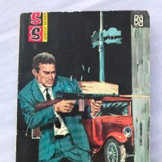 Cómics: COLECCIÓN SERVICIO SECRETO Nº 647. EVASION C. CARRADOS, ED. BRUGUERA, 122PAG. 1ª ED. 1962. Lote 274857833