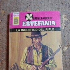 Cómics: NOVELA DE MARCIAL LAFUENTE ESTEFANÍA EN LA INQUIETUD DEL RIFLE Nº 172. Lote 277253403
