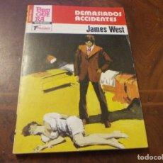 Cómics: PUNTO ROJO Nº 1159 DEMASIADOS ACCIDENTES, JAMES WEST. BRUGUERA 1ª ED. OCTUBRE 1.984. Lote 277278173