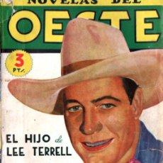 Cómics: JOSÉ MALLORQUÍ : EL HIJO DE LEE TERRELL (NOVELAS DEL OESTE CLIPER). Lote 277694453