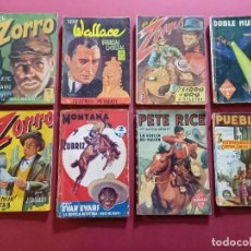 Cómics: 8 NOVELAS ANTIGUAS -VARIOS PERSONAJES -( CB ). Lote 277706493